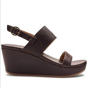 Olukai Keha Multi Strap Wedge Sandal